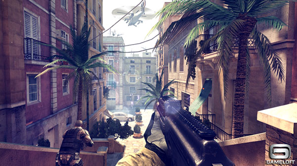 Moder Combat 4: Zero Hour iPhone, iPad