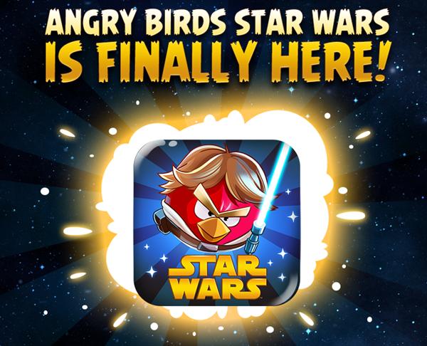 Angry Birds Star Wars iOS App na iPhone iPad