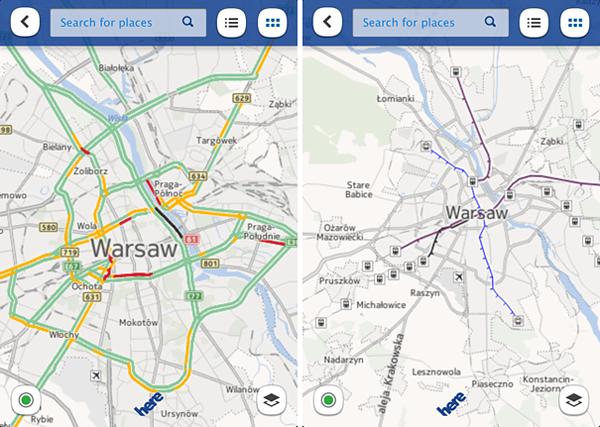 Nokia HERE Warszawa