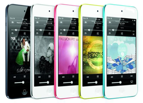 iPod touch kolory