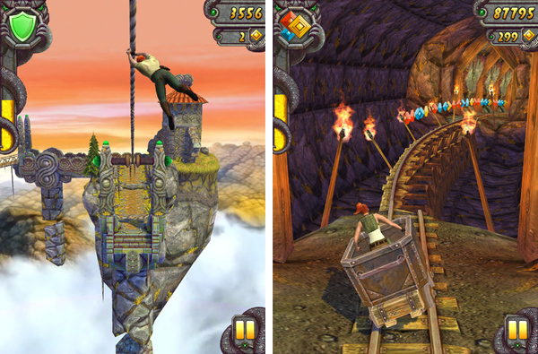 Temple Run 2 iPhone, iPad