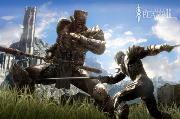 Infinity Blade II na iPad, iPhone