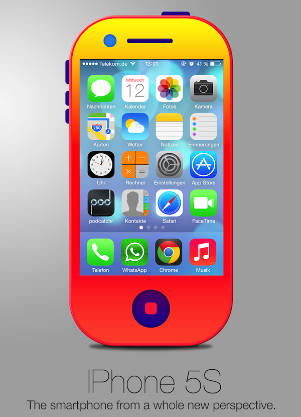 Jony Ive Redesigns Things - iPhone 5S