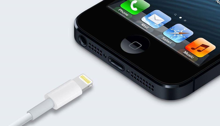 Ładowanie Lightning iPhone 5
