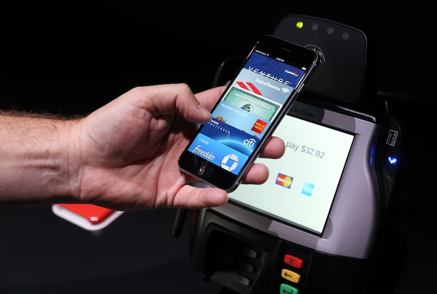 Apple Pay demo z iPhone 6