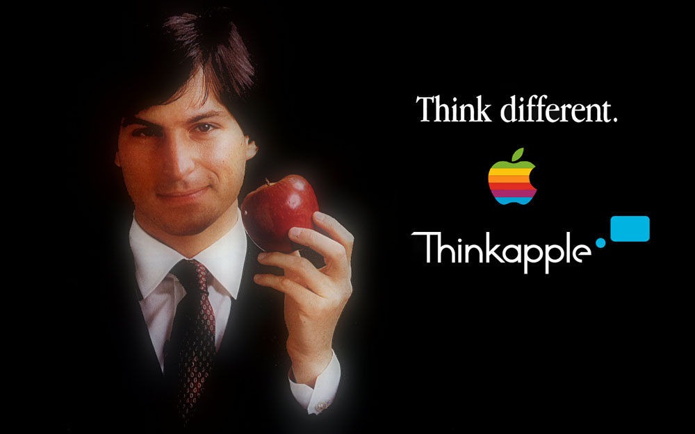 Think Different ThinkApple