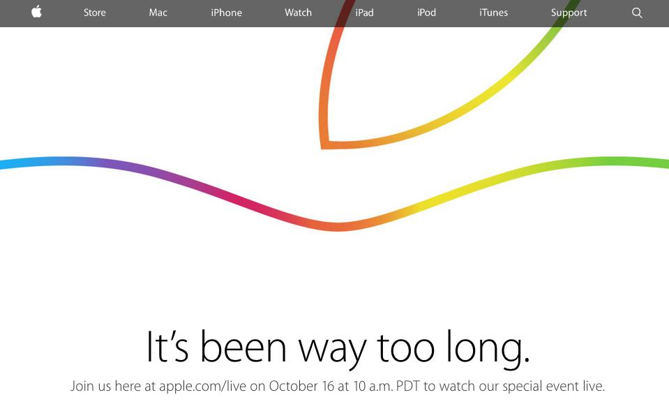 Transmisja na żywo z eventu Apple