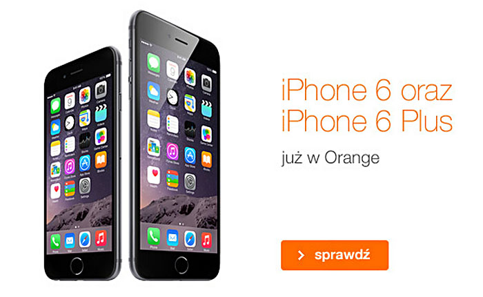 iPhone 6 Plus w Orange