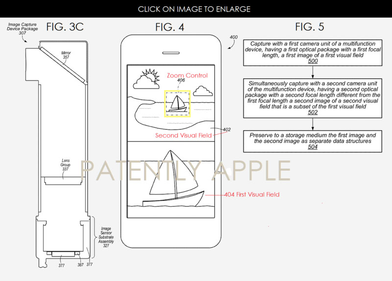 Apple-dual-camera-patent