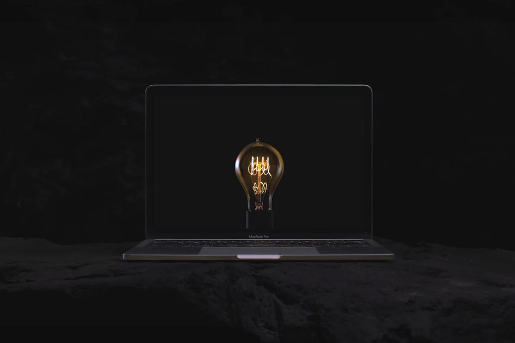 macbook-reklama-bulbs