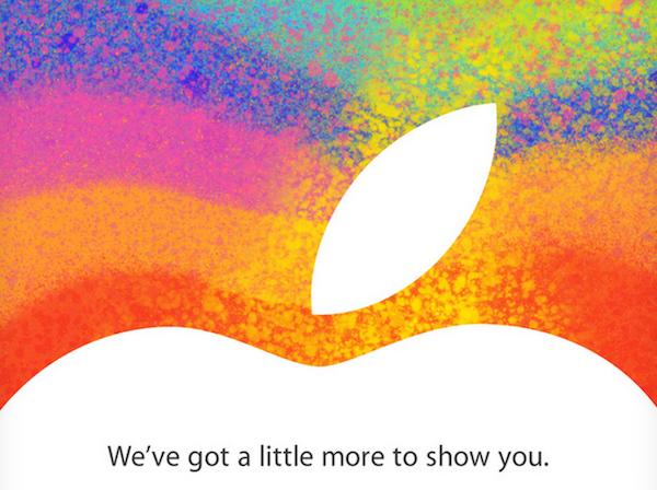 Apple event październik