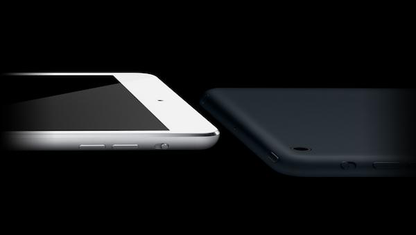 iPad mini czarny biały
