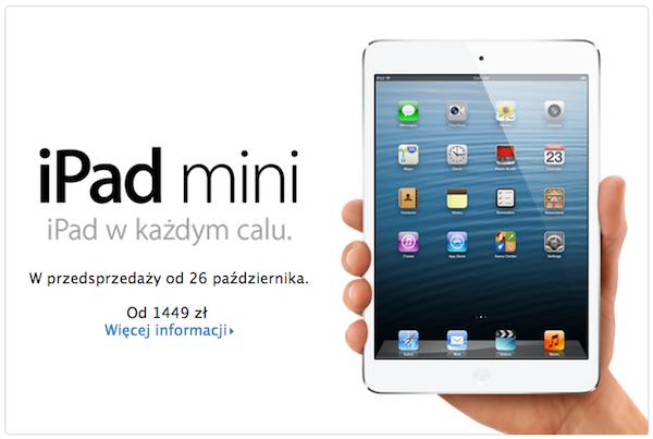 iPad mini w Polsce