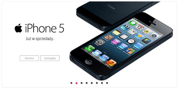 Ceny iPhone 5 w Polsce