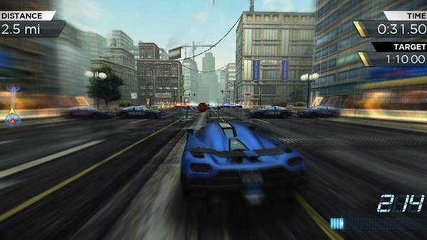 Need for Speed Most Wanted na iPhone iPad