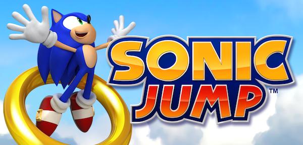 Sonic Jump na iOS iPhone iPad
