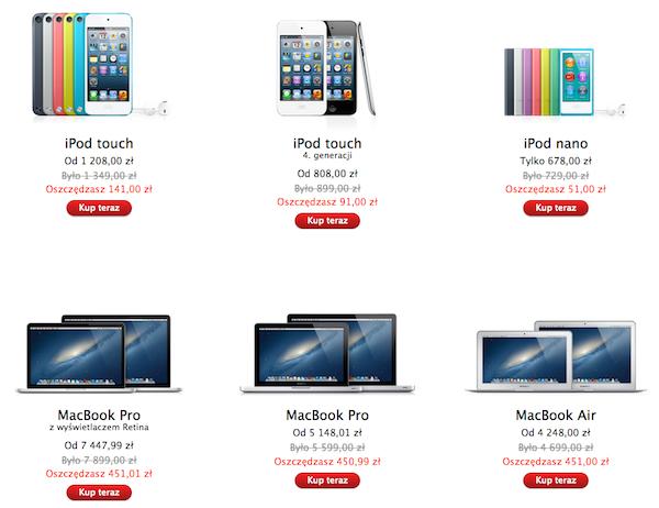 Black Friday 2012: Czarny Piątek w polskim Apple Online Store
