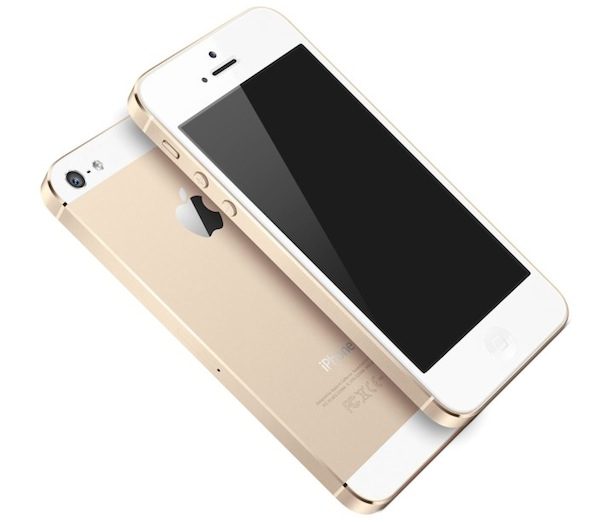 iPhone 5S w kolorze szampana