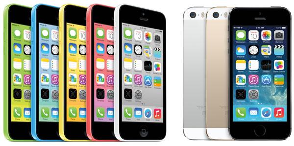 iPhone 5c i iPhone 5S