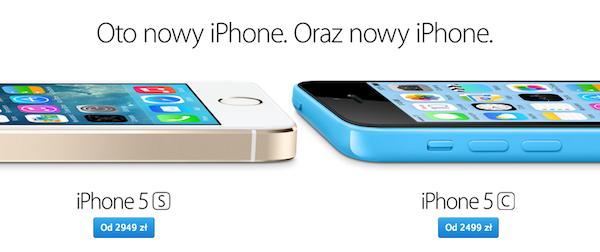ceny-iphone-5s-5c-w-polsce