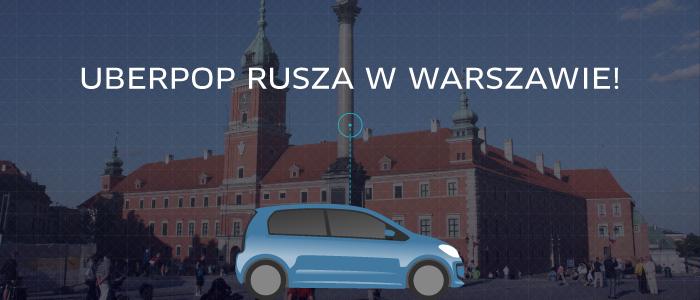 Uber w Warszawie (kod promocyjny)