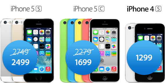 Promocja Phone 5s 5c 4s