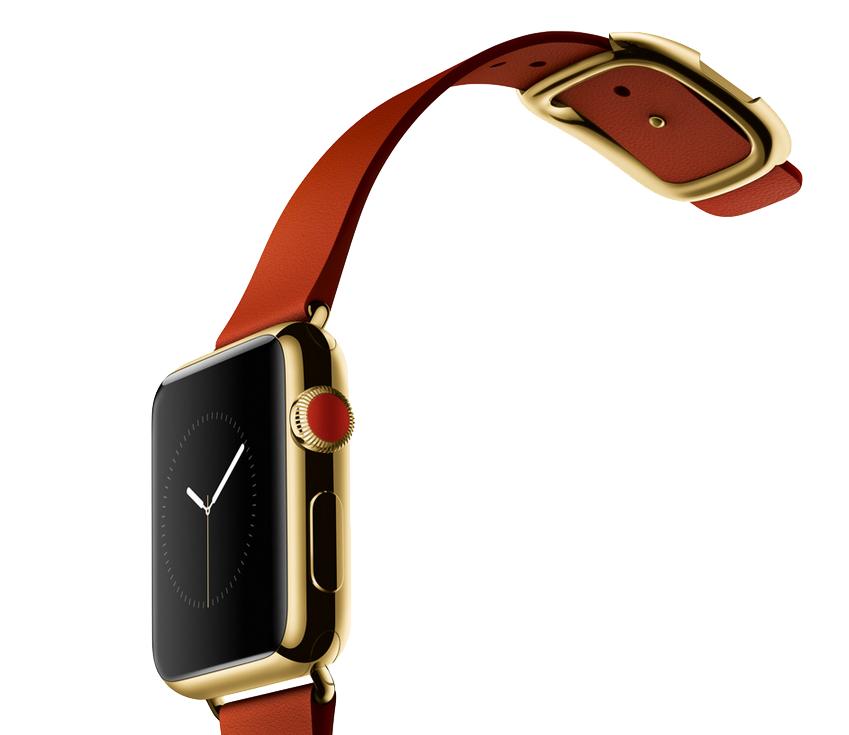 Złoty Apple Watch