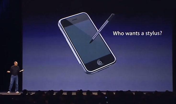iPad Pro rysik stylus