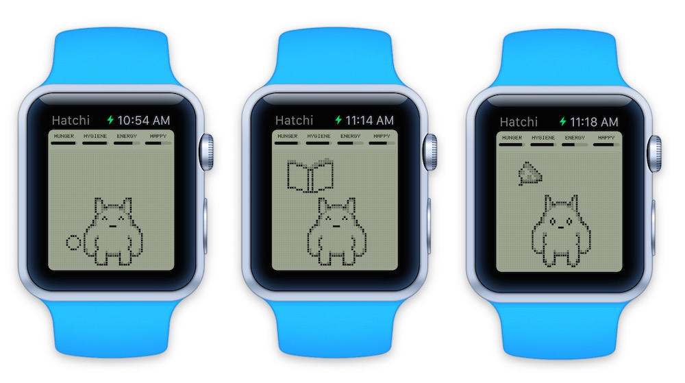 hatchi-apple-watch