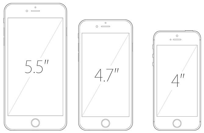 mniejszy iphone