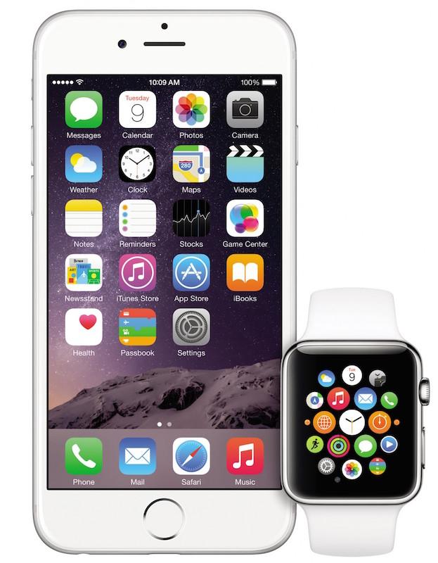 Apple-Watch-iphone