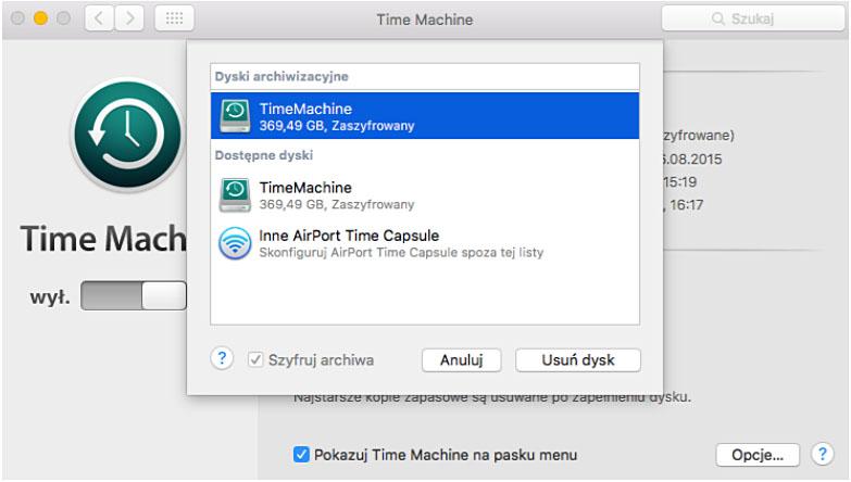 szyfrowane-dane-time-machine