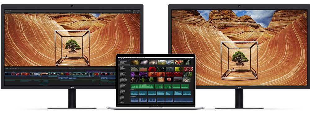 Macbook Pro 2016 + 2x UltraFine