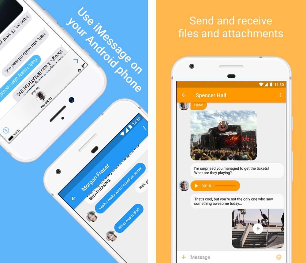 Try These Airmessage Beta {Mahindra Racing}