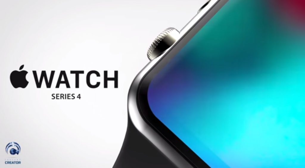 Apple Watch Series 4 koncept