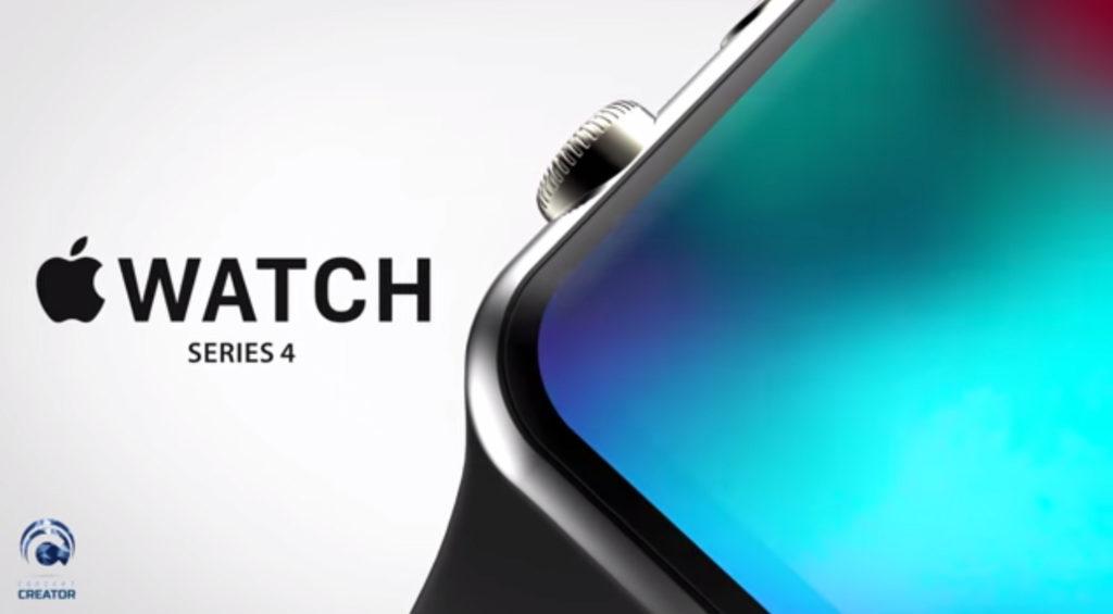 Apple Watch Series 4 koncept