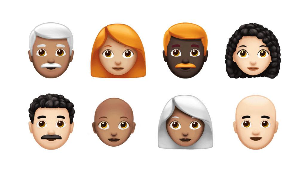 nowe emoji 2018