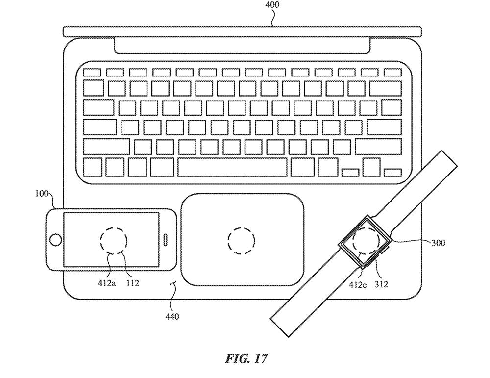 Ładowanie indukcyjne Apple fot2