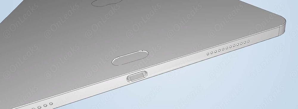 Nowy iPad Pro schemat