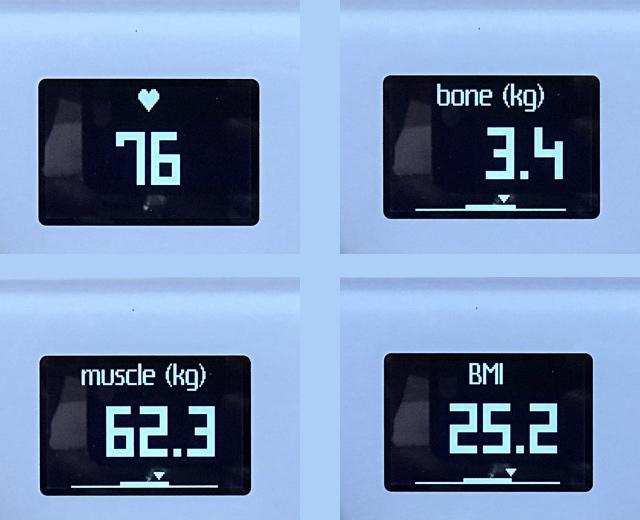 Body Cardio ekrany
